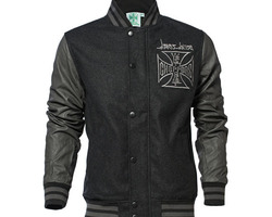 Veste CROSS WOOL BASEBALL JACKET